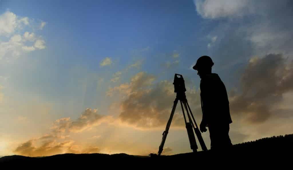 iStock_Surveyor_Sunrise Silhouette