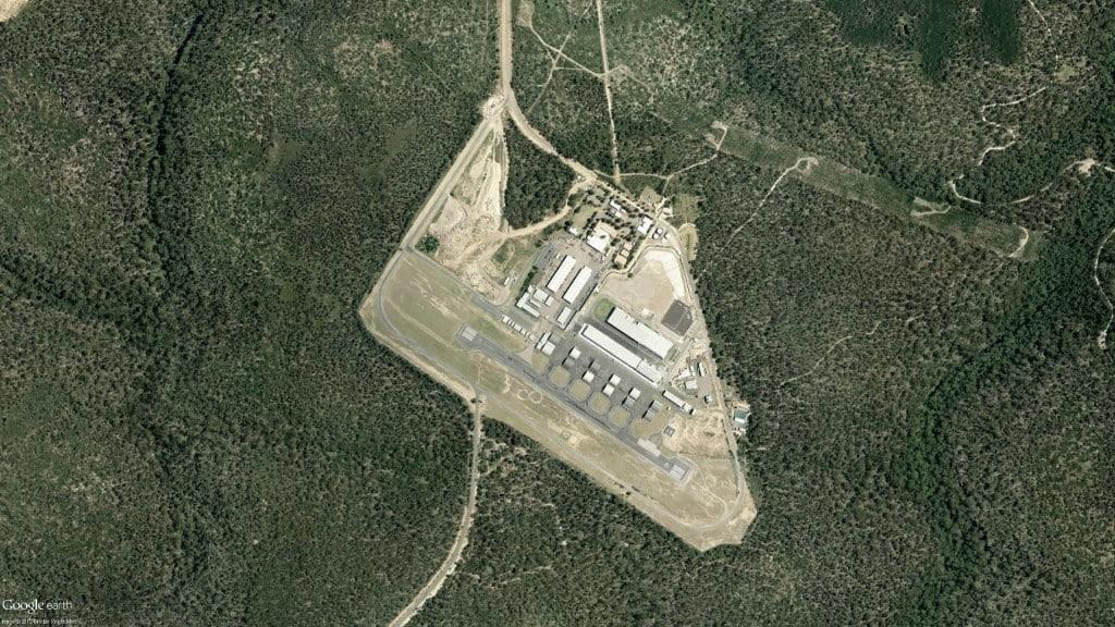 Holsworthy army base Holsworthy environmental survey aerial photo of runway