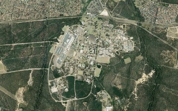 Holsworthy army base Holsworthy environmental survey aerial photo of main site