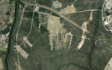 Holsworthy army base Holsworthy environmental survey aerial photo