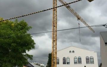 52-54 Pitt Street Redfern construction crane
