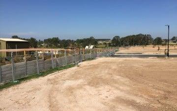Alex Avenue Schofields land subdivision earthworks