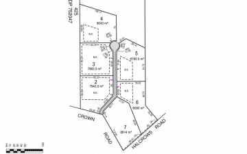 Halcrows Road Glenorie cluster subdivision plan of lot layout
