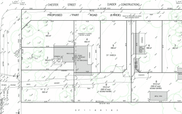 St Albans Road Schofields land subdivision layout