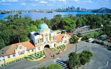 Taronga Zoo Sydney Survey Detail Construction Setout
