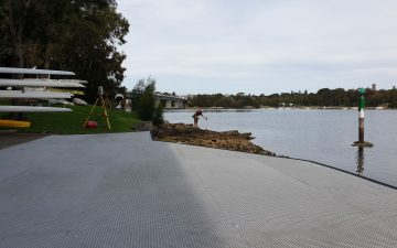 Drummoyne Rowers Club Detail Survey Proposed Lease Area Plan