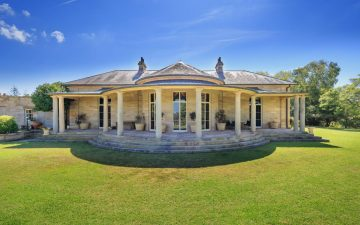 Front view of historic Fernhill Estate at Mulgoa where SurveyPlus completed a boundary survey and boundary marking