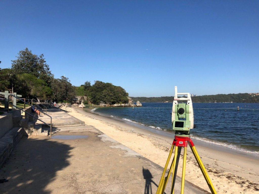 Nielsen Park Seawall Vaucluse Oculus Detail Survey Digital Terrain Model