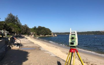 Nielsen Park Seawall Vaucluse Oculus Detail Survey Digital Terrain Model